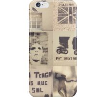 Palermo stencils collage  iPhone Case/Skin