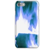 Blue Firelight iPhone Case/Skin