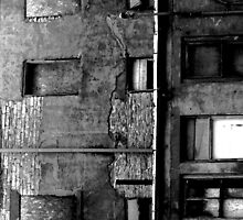 Decayed Building by SRowe Art