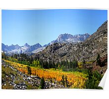 Fall Colors In The Sierras Poster