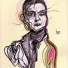 Decomposition I - Francis Bacon -- ORIGINAL SOLD by Joseph Walrave