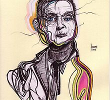 Decomposition I - Francis Bacon by Joseph Walrave