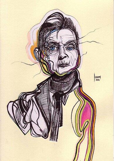 Decomposition I - Francis Bacon -- ORIGINAL SOLD by Joseph Walrave