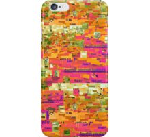 Multicolor Paper Collage iPhone Case/Skin