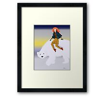 East of the Sun, West of the Moon Framed Print
