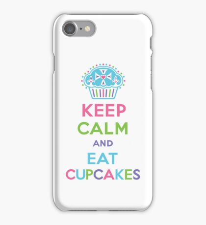 Keep Calm and Eat Cupcakes 3G  4G  4s iPhone case  iPhone Case/Skin