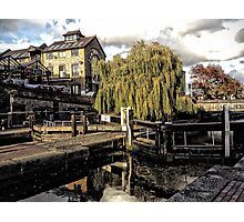 Camden Lock Photographic Print