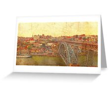 Old Oporto Greeting Card