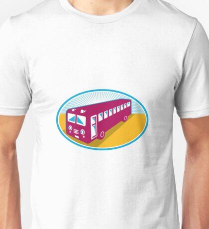 vintage coach bus shuttle retro Unisex T-Shirt