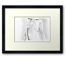 Covered Middle Framed Print