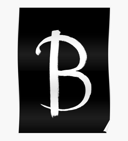 The Letter B Poster