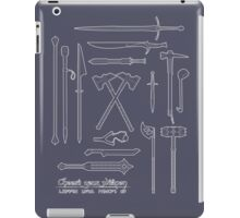 The Weapons of the Company iPad Case/Skin