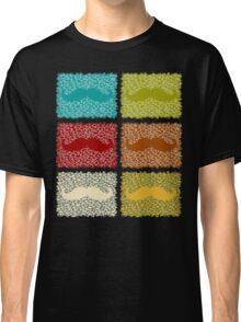 Funny Mustaches  Classic T-Shirt