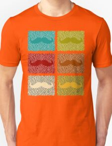Funny Mustaches  T-Shirt