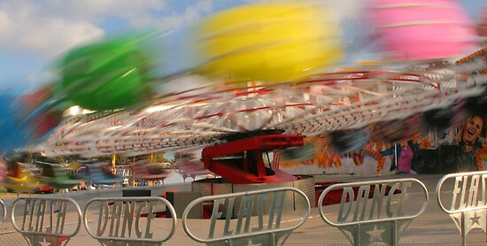 Spinning colour by Michael Matthews