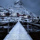 Bridge in Reine by John Dekker
