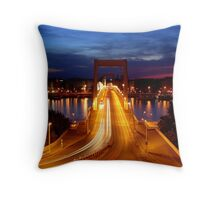 crystalline morning Throw Pillow