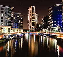 Clarence Dock | Leeds@Night by scottsmithphoto