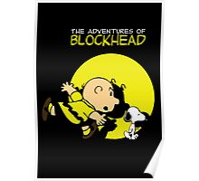 The Adventures of Blockhead Poster