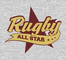 Retro Rugby Kids Tee
