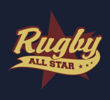 Retro Rugby One Piece - Short Sleeve