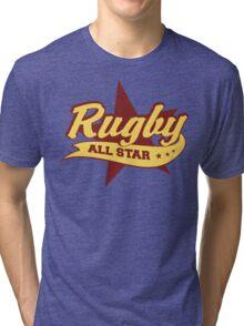 Retro Rugby Tri-blend T-Shirt
