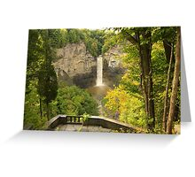 Finger Lakes Falls Greeting Card