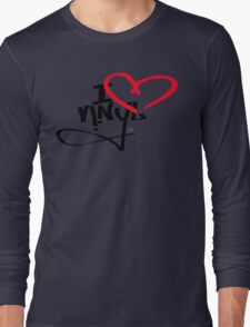 I LOVE VINYL Long Sleeve T-Shirt