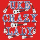 Uke Crazy Lady by Lenny36