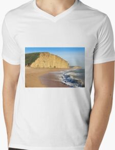 West Bay Dorset  Broadchurch - 1 Mens V-Neck T-Shirt