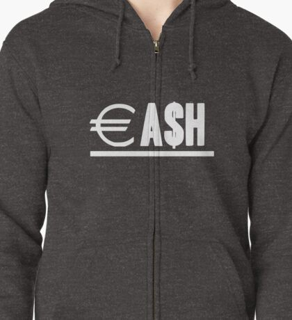CA$H Zipped Hoodie