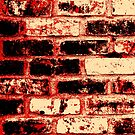 Fire brick wall  by Nhan Ngo
