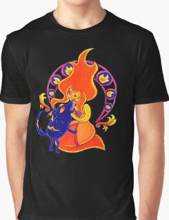 Firey Friendship Graphic T-Shirt