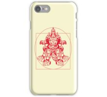 Vitruvian Dragon Zord iPhone Case/Skin