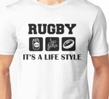 Naughty Rugby Unisex T-Shirt