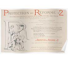 Protection du réformé no 2 Assistance aux malades et blessés de la guerre réformés sans pension Crédit Foncier de France Poster