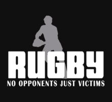 Rugby Just Victims by SportsT-Shirts