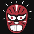 luchador in black and red by diabolickal plan