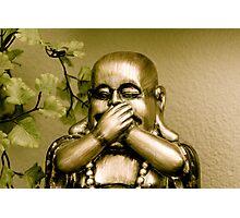 Swear to Buddha!   Photographic Print