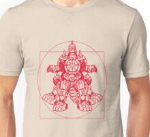 Vitruvian Dragon Zord Unisex T-Shirt