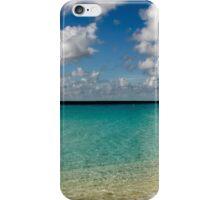 Caribbean pastoral seashore panorama  iPhone Case/Skin