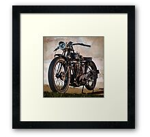 1927 A-J-S Motorcycle Framed Print