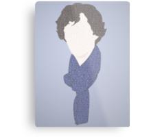 Sherlock in a few words Metal Print