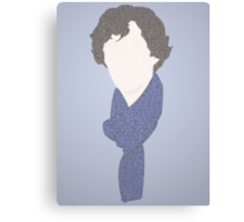 Sherlock in a few words Canvas Print