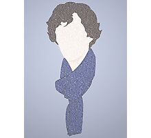 Sherlock in a few words Photographic Print
