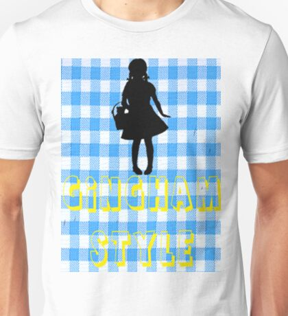 Wizard Of Oz Dorothy Gingham Style T-Shirt