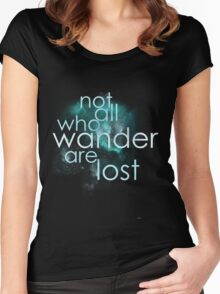 lost Women's Fitted Scoop T-Shirt