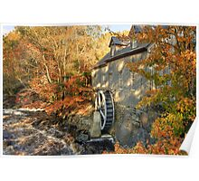 Sable River Mill in Autumn 2 Poster