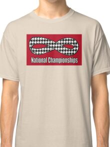 Alabama Infinity National Championships Crimson back Classic T-Shirt