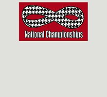 Alabama Infinity National Championships Crimson back Unisex T-Shirt